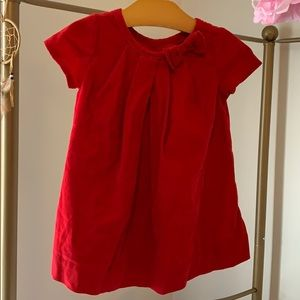 Baby Gap Red Holiday Dress 6-12 months